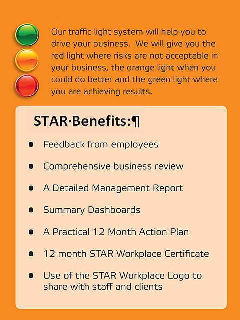 STAR Workplace Program Benefits